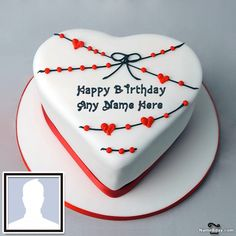 Write Name On Birthday Cake For Brother With Photo Birthday Cake