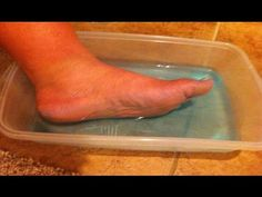 Rejuvinating peppermint foot bath salts - YouTube