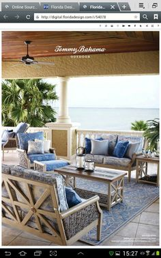 ee976dbb341 67 Best Tommy bahama fabric images   Beach cottages, Outdoors, Porches