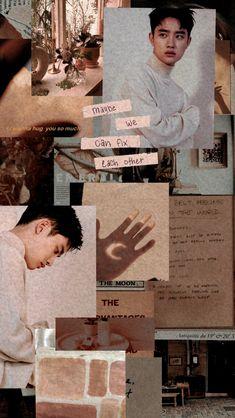 Kyungsoo exo soft aesthetic wallpaper - New Ideas Kaisoo, Kyungsoo, Exo Ot12, Exo Chanyeol, D O Exo, Exo Do, Soft Wallpaper, Tumblr Wallpaper, Wallpaper Backgrounds