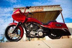 Harley Davidson Road Glide  custom bagger 23 bagger 2