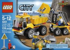 LEGO City Loader and Tipper - http://www.kidsdimension.com/lego-city-loader-and-tipper/