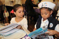 Los 32 niños y niñas ganadores del XXXV Concurso Nacional de Pintura Infantil El Niño y la Mar, organizado por la Secretaría de Marina-Armada de México, platicaron con Javier y Carolina, hijos del mandatario veracruzano, con quienes compartieron sus experiencias al participar en este concurso.