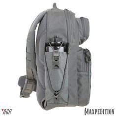 The Expandable Bottle Holder is introduced with the MAXPEDITION® Advanced Gear Research GRIDFLUX™ sling pack and WOLFSPUR™ crossbody shoulder bag. www.Maxpedition.com