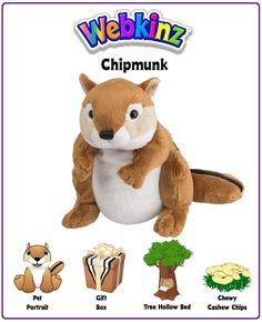 Webkinz Chipmunk Plush
