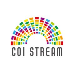 革新的イノベーション創出プログラム(COI STREAM)のロゴマーク。 文部科学省が、10年後の日本のあるべ