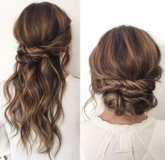 Bridal Wedding Hairstyles for Long Hair – Hair Care Tips Easy Updos For Long Hair, Simple Wedding Hairstyles, Pretty Hairstyles, Bridal Hairstyles, Hairstyle Ideas, Elegant Hairstyles, Easy Hairstyles, Hairstyle Wedding, Latest Hairstyles