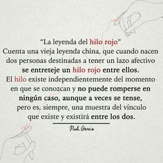 Hilo Rojo Mis Frases Pinterest Love Quotes Frases Y Quotes