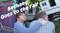 Bethany Goes to the Chenango County Fair!  #specialneeds #specialneedsparenting #autism #epilepsy