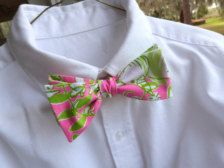 91ac7b4f5196 i want this for work!!! lily pulitzer bow tie! Crisp White Shirt