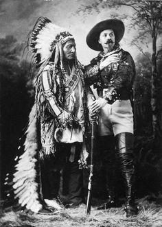 Sitting Bull and Buffalo Bill 1885