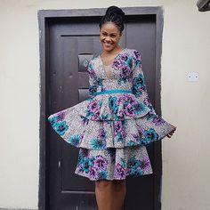 Are You An Ankara Fashionista? Ankara Short Gown Dresses, Ankara Short Gown Styles, Short Gowns, African Print Dresses, African Dresses For Women, African Fashion Dresses, Ankara Fashion, African Prints, African Wear