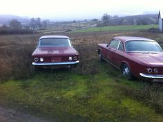 Corvairs, a' 63 and a '64