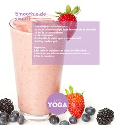 smoothie de yogurt