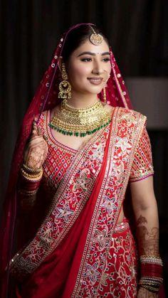 Bridal Makeup Looks, Indian Bridal Makeup, Bridal Henna, Bridal Looks, Bride Makeup, Indian Bridal Photos, Indian Bridal Outfits, Wedding Photos, Wedding Outfits