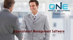 Looking for the best #Appointment #Booking #Software to manage your business. 1WayIT Solutions offers best #Appointment #Management #Software that's easy to use, reduces your cost, automatic reminders & consumer support, schedule appointment from anywhere & any location.