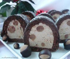 Az áfonya mámora: Gesztenye alagút Pulled Pork, Muffin, Pudding, Diet, Breakfast, Cake, Christmas, Food, Kuchen
