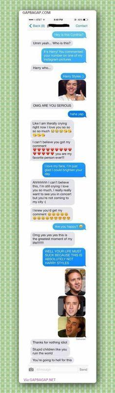 Top 5 Hilarious Texts About Celebs