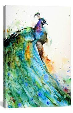 iCanvas 'Pheasant - Dean Crouser' Giclée Print Canvas Art available at #Nordstrom