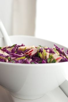 apple slaw recipe - Have to try when its only me and austin agiain, or a night when my mom and I are alone :)