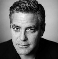 Cool George Clooney Haircuts
