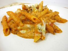 Baked Penne: Plain Chicken
