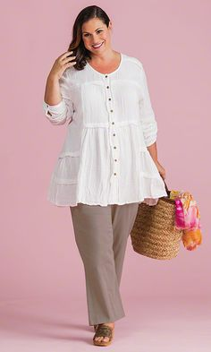 Canterbury Blouse / MiB Plus Size Fashion for Women / Spring Fashion…