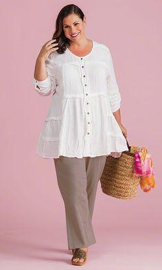 Canterbury Blouse / MiB Plus Size Fashion for Women / Spring Fashion http://www.makingitbig.com/product/5102