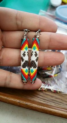 Native beaded earrings                                                                                                                                                                                 More