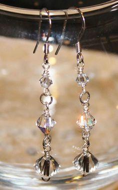 Three Swarovski Xillion Crystals