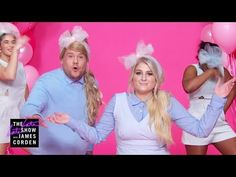 """James Corden joins Meghan Trainor in a New Year's resolutions parody of her hit song """"All About That Bass."""" Subscribe To """"The Late Late Show"""" Channel HERE: h..."""