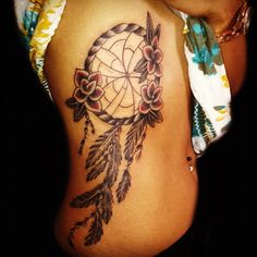 dream catcher tattoo, oh but make it super smaller than this.