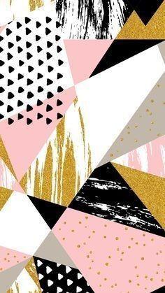 Geometric Wallpaper Iphone, Pink Marble Wallpaper, Trendy Wallpaper, Cute Wallpaper Backgrounds, Wallpaper Iphone Cute, New Wallpaper, Cellphone Wallpaper, Pretty Wallpapers, Iphone Wallpapers