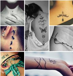 Segundo a crendice que envolve as tatuagens, é importante que elas estejam presentes em número ímpar no corpo. Eu não costumo acreditar em crendices, porém, essa muito me convém, afinal, estou louc...