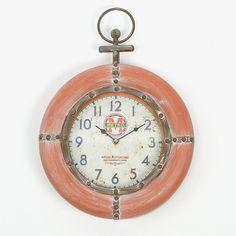 Relógio Marinheiro Vermelho | A Loja do Gato Preto | #alojadogatopreto | #shoponline | referência 107864845