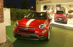 Customization of the 500X offers sporty combinations for the new FIAT on the block.