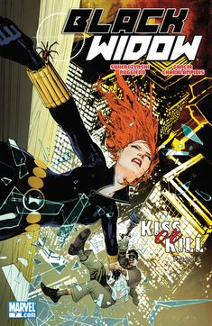 """Black Widow #7 """"Kiss Or Kill, Part 2"""" (December, 2010)"""