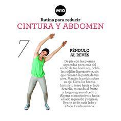 Rutina para reducir cintura y abdomen