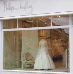 Phillipa Lepley - Butterly Window Display - www.phillipalepley.com