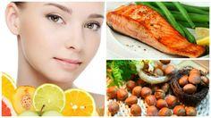 Cuida la salud de tu piel, consumiendo estos 6 alimentos. #consejos #salud #remediosnaturales