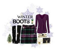 """""""Winter Boots"""" by shelley-harcar ❤ liked on Polyvore featuring Milly, Threshold, Dorothy Perkins, Chanel and Bling Jewelry"""