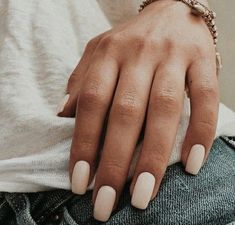 The advantage of the gel is that it allows you to enjoy your French manicure for a long time. There are four different ways to make a French manicure on gel nails. Hair And Nails, My Nails, Taupe Nails, Nail Ring, Mani Pedi, Nail Inspo, Short Nails, Nails Inspiration, Beauty Nails