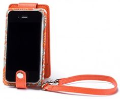 The Princeton Cellfolio in orange just screams SUMMER, doesn't it?