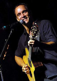 My oldest musical friend, Dave Matthews. His voice will forever comfort me.