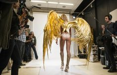 Meet the Woman Who Makes the Victoria's Secret Angel Wings via Brit + Co.
