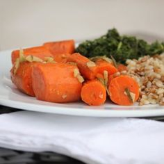 Easy Honey Roasted Carrots in a Bag- anti inflammatory