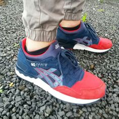 asics gel lyte v navy foot locker