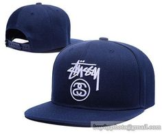 Cheap Wholesale Stussy Snapback Hats Navy for slae at US 8.90  snapbackhats   snapbacks   e25be92955f9