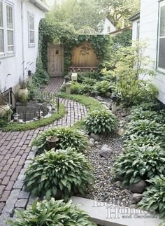 Backyards and Sideyards love this ! so nice:)!