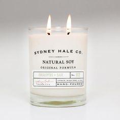 Sydney Hale Co. Natural Soy Candle | Eucalyptus + Sage